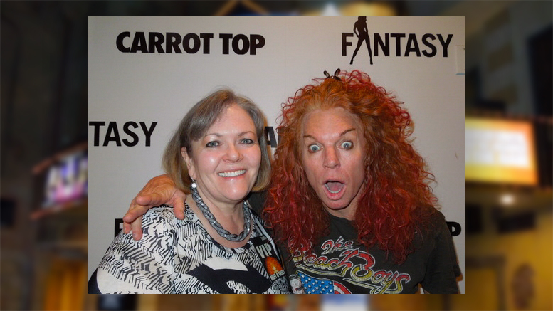 A meet and greet with carrot top vegas bright carrot top meet and greet m4hsunfo Gallery