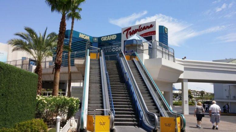 Tropicana Shops Escalators