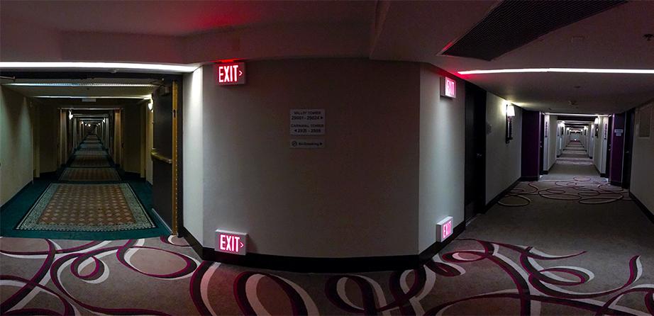 Room Review Harrahs Valley Tower King Vegas Bright