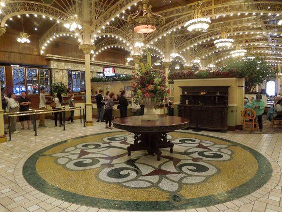 Magnificent Biting In Main Street Stations Garden Court Buffet Vegas Interior Design Ideas Gentotthenellocom
