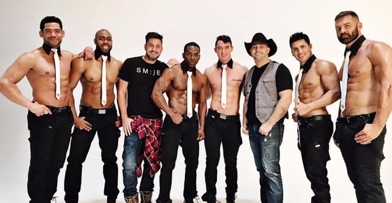 Men of the Strip cast