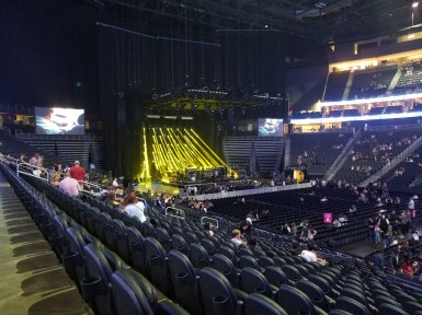 T-Mobile Arena stage