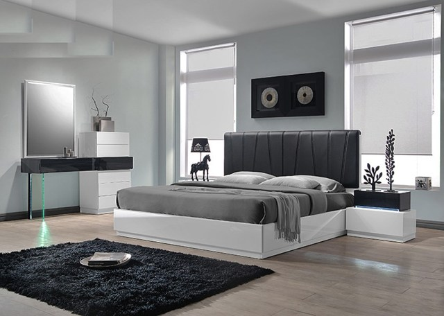 Ireland 4pc Bedroom Set | Las Vegas Furniture Store ...