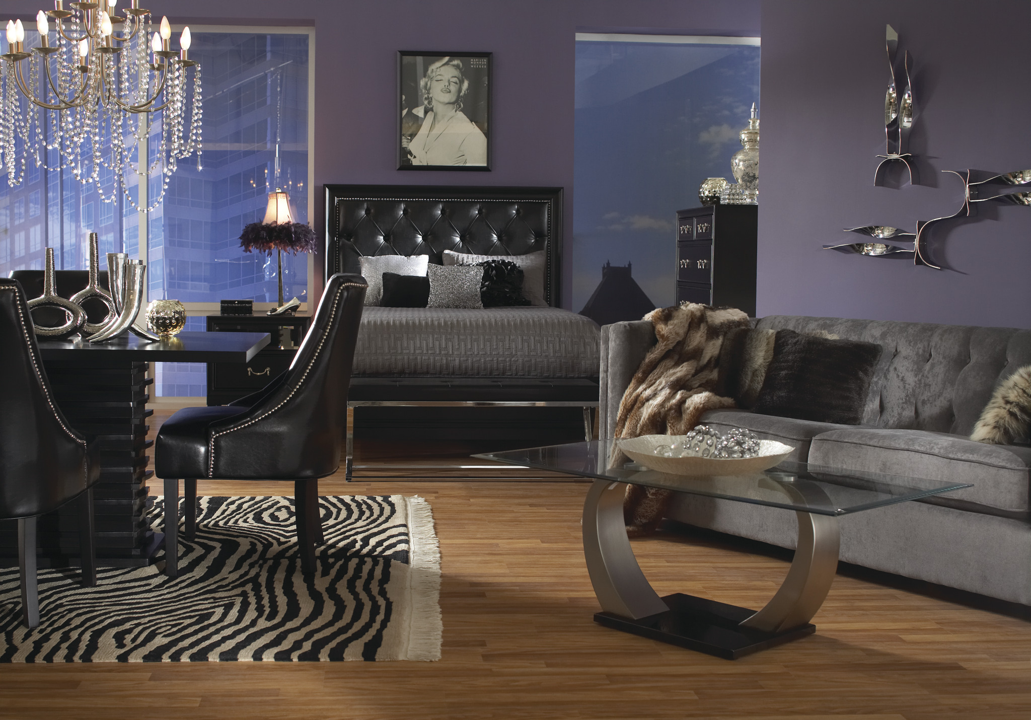Every item on this page was curated by an elle decor editor. Glam Rocker Home Package Collection | Las Vegas Furniture ...
