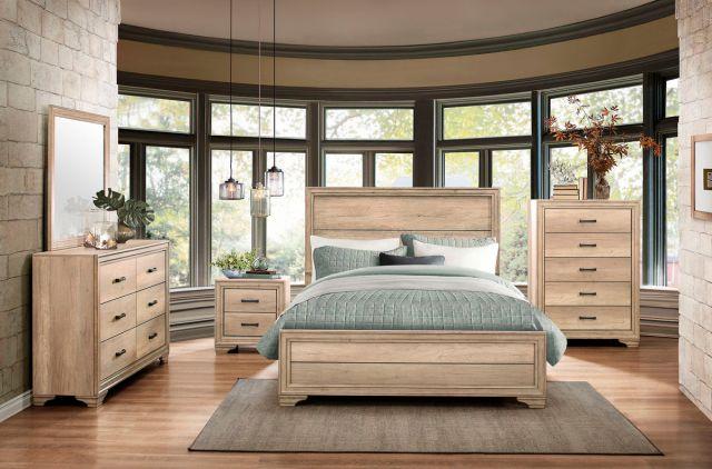 Lonan Sun Bleach Bedroom Collection   Las Vegas Furniture ...