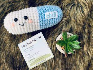 yeti or not crochet pill