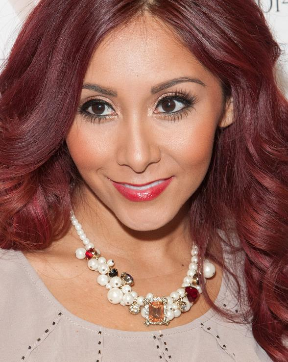 Nicole 'Snooki ' Polizzi Appears at MAGIC to Unveil Her New Fall Sportswear Collection SnookiLove by Nicole Polizzi