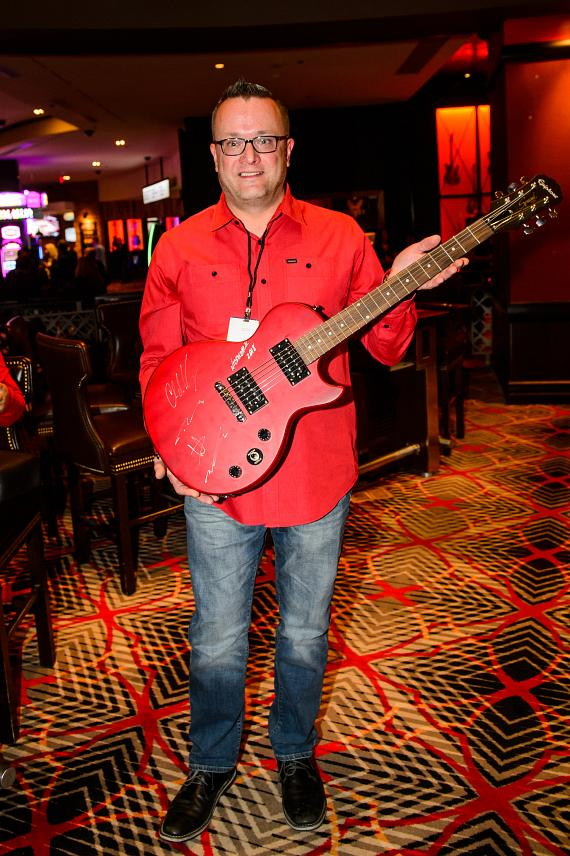 Nickelback guitar winner