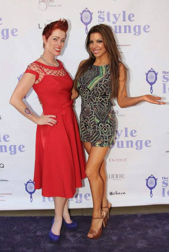 Andeen Rose and Nieve Malandra at The Style Lounge