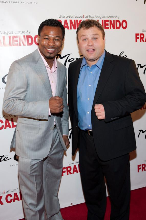 Sugar Shane Mosley and Frank Caliendo