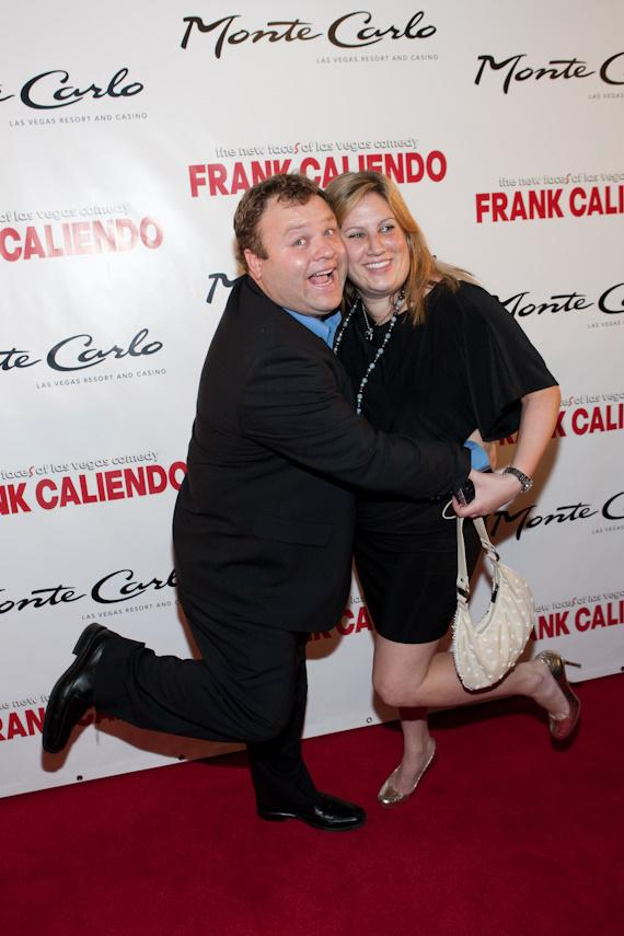 Frank Caliendo and Michelle Caliendo