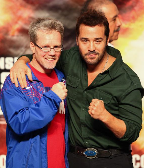 Freddie Roach with actor Jeremy Piven