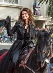 Shania Twain rides into town to her new home at The Colosseum at Caesars Palace