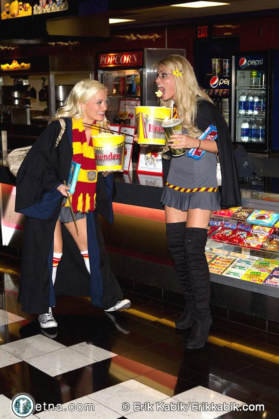 PEEPSHOW and Holly's World star Holly Madison and her co-star Angel Porrino at Brenden Theaters
