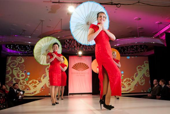 "Mandarin Oriental, Las Vegas ""Day of Delight"" Fashion Show"