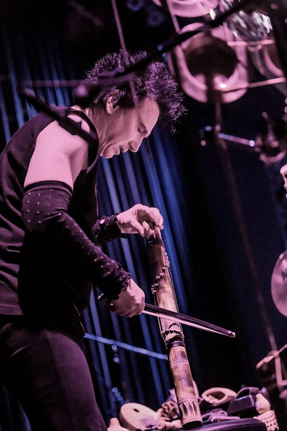 Überschall performs with Terry Bozzio at The Smith Center in Las Vegas