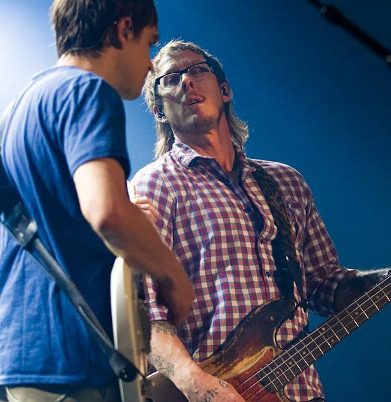 Weezer performs at The Joint at Hard Rock Hotel Las Vegas
