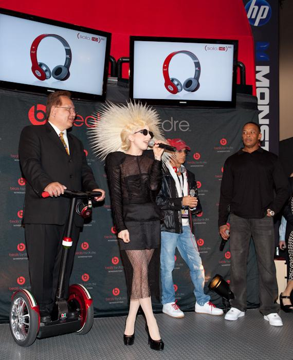 Lady Gaga, Dr. Dre and Monster team up to help eliminate AIDS in Africa