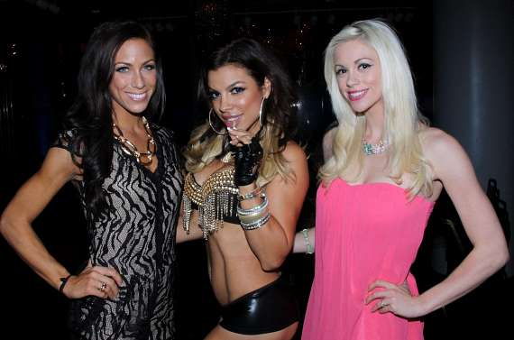 Sandra Cauley ('Mrs. Georgia'), Nieve Malandra and Chloe Louise Crawford