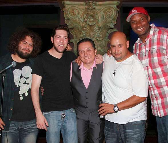 "Comedians Dustin Ybarra, Steven Briggs, Gabe Lopez, Jorge 'Cooch' Aldama and Kevin Bozeman Perform in ""Rise to Offend"" in The Foundation Room"
