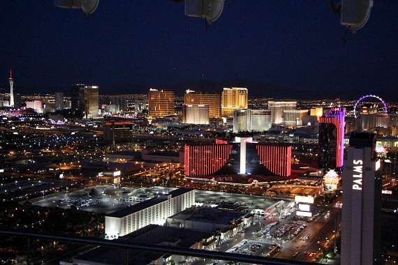 Inside the $38 Million Penthouse at Palms Place in Las Vegas