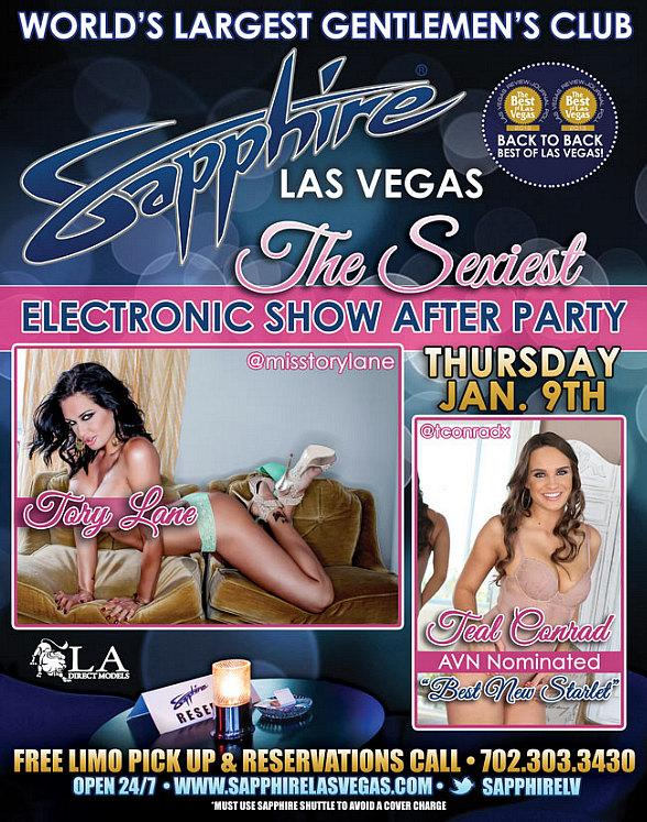 Sapphire is Bringing Sexy Back to CES with an Electronics Show After Party Thursday, Jan. 9