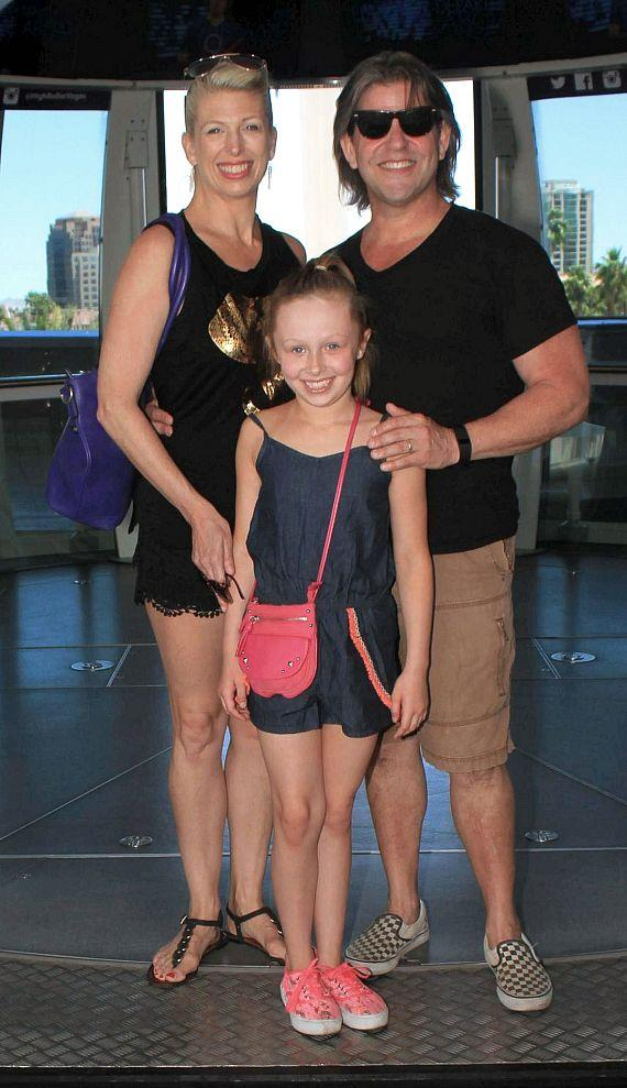 Bucky Heard of Righteous Brothers and his family on the High Roller in Las Vegas