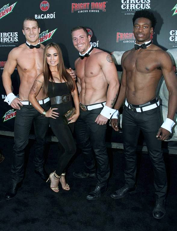 Jaymes Vaughan, Megan Telles, Chippendales, Dixie Miranda, Tenors of Rock, Ricardo Laguna, Murray SawChuck, Dana White, Sexxy and Fantasy Celebrate Fright Dome's 15th Anniversary