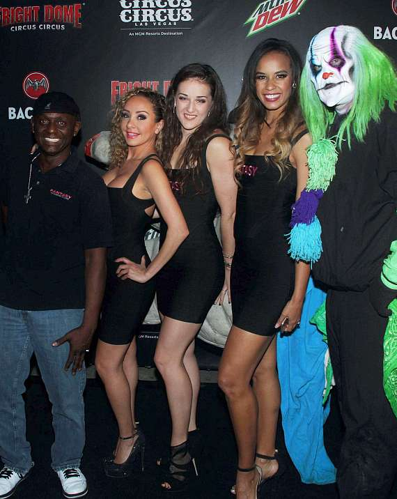 Cast of FANTASY at Fright Dome in Las Vegas