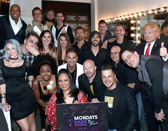Mark Shunock and the performers and crew of The Tyler Robinson Foundation benefit