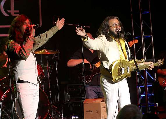Bee Gees Gold perform at the Mondays Dark benefit for The Tyler Robinson Foundation