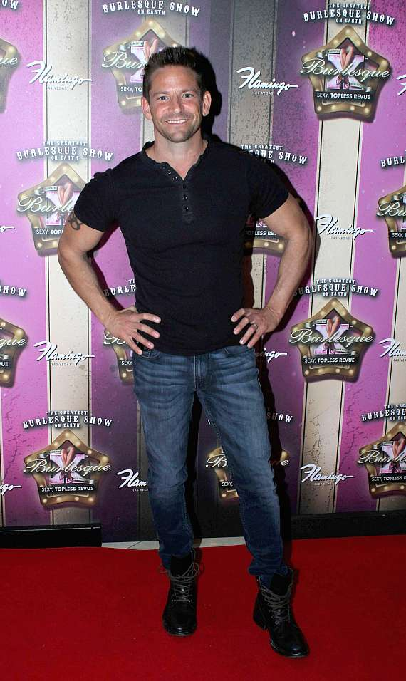 Jeff Timmons at X Burlesque