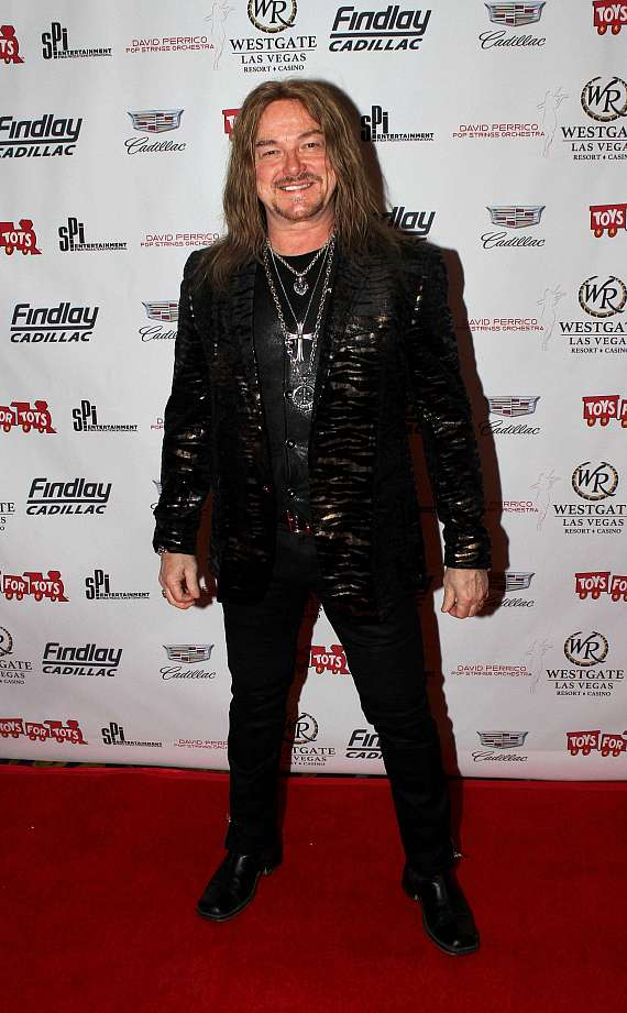 """Mark Boals at """"Toys for Tots"""" Charity Benefit in Las Vegas"""