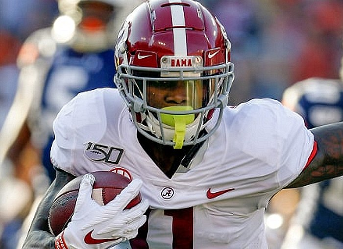 Raiders Sign First-Round Pick WR Henry Ruggs III