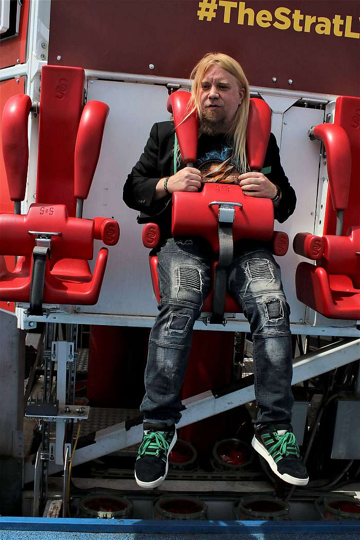 Fans Enjoy Thrill Rides at The STRAT on National Roller Coaster Day