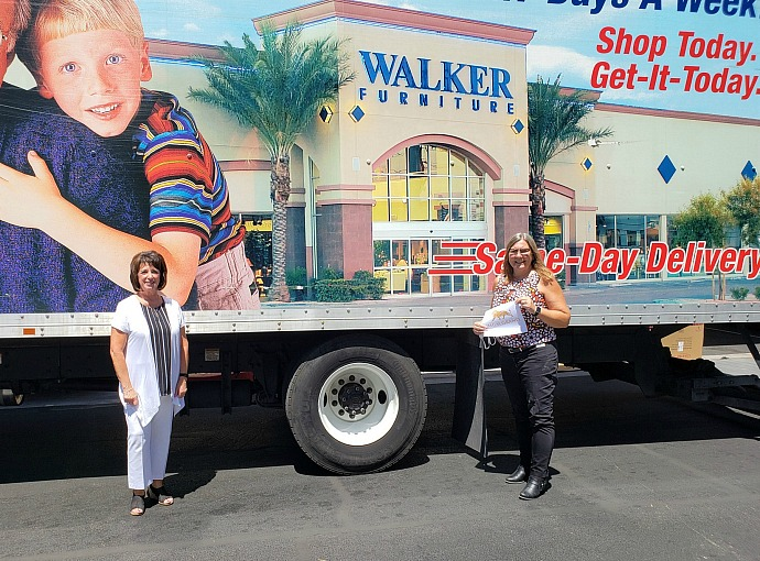 Walker Furniture Supports the Salvation Army's Seeds of Hope Program