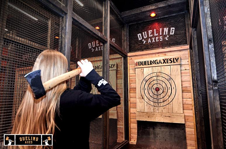 Throw in the New Year With Dueling Axes at AREA15
