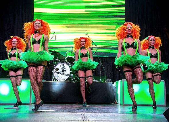 Get Lucky at Fremont Street Experience's Four-Day St. Patrick's Day Shamrock Celebration, March 14–17
