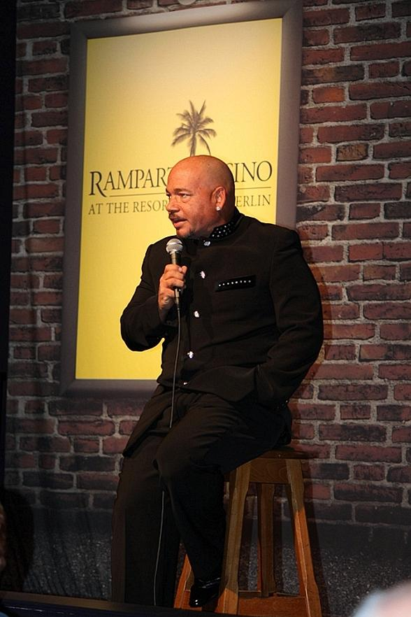 Marc Patrick performs at Bonkerz Comedy Club in Las Vegas