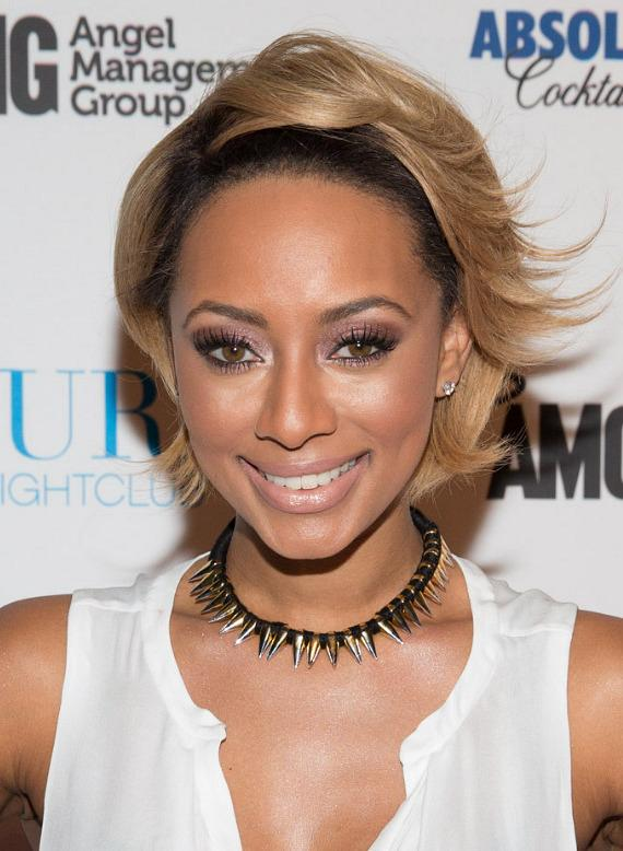 Keri Hilson arrives at PURE Nightclub