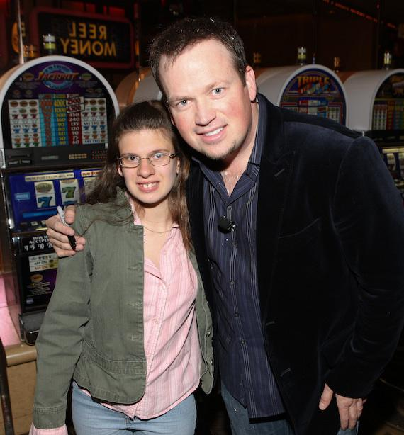 Nathan Burton and guest from Best Buddies