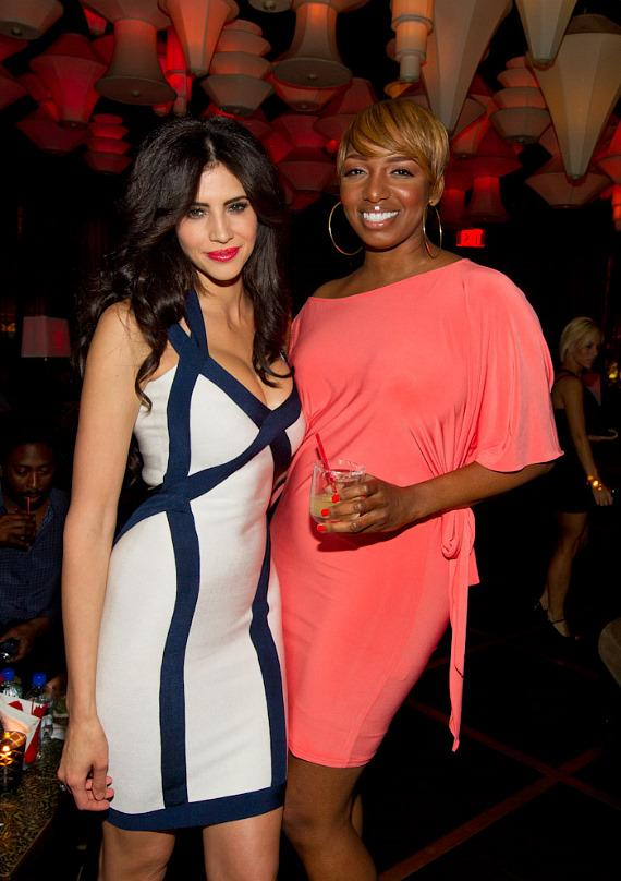 """Hope Dworaczyk, 2010 Playmate of the Year at """"The Celebrity Apprentice"""" Viewing Party at Blush"""