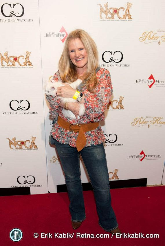 Nancy Cartwright, the voice of Bart Simpson