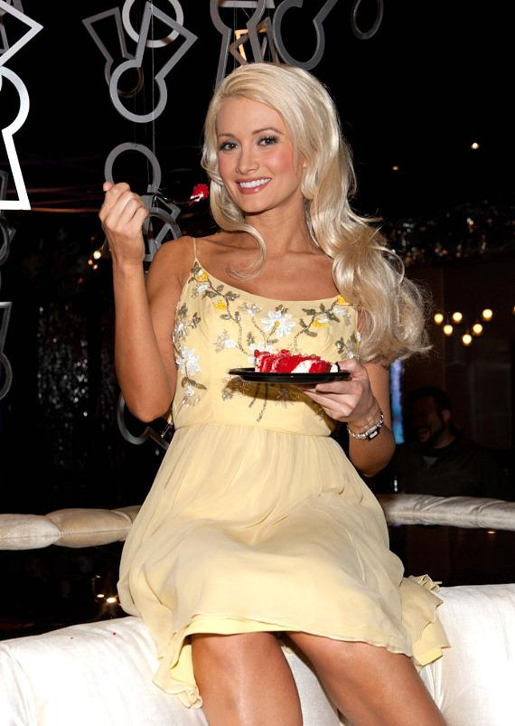 Holly Madison celebrates first anniversary of PEEPSHOW at Planet Hollywood