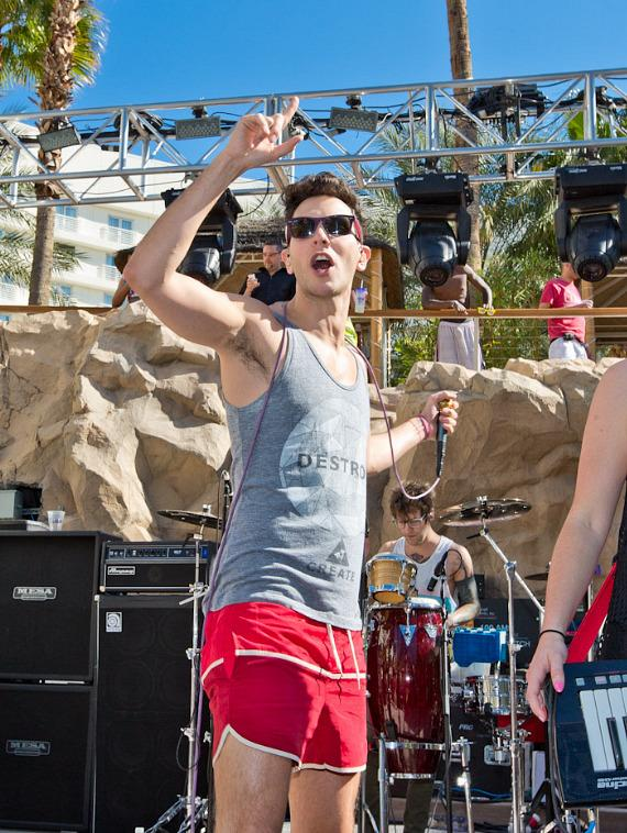 Cobra Starship Performs at Hard Rock Hotel & Casino in Las Vegas