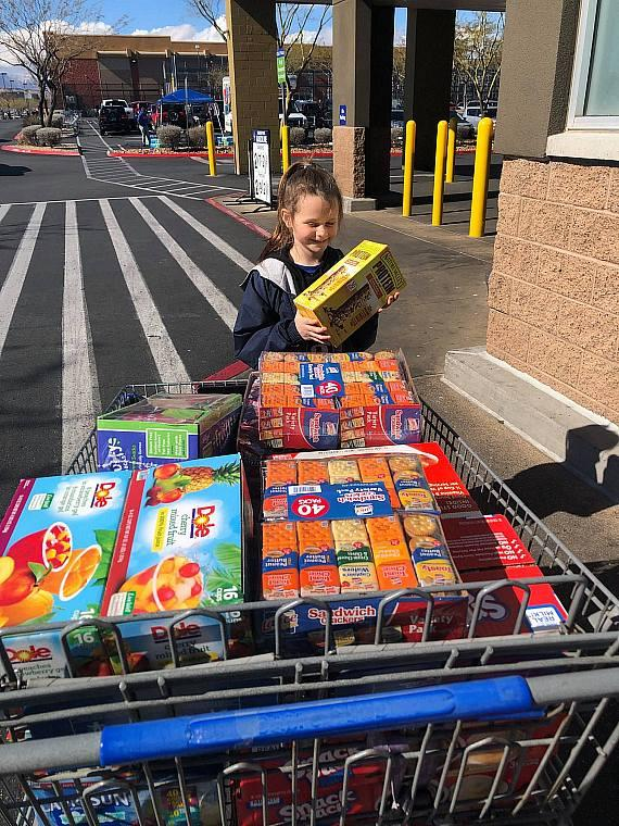 Southwest Specialties donated and helped at the Sams Club Food Drive in February