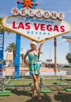 Holly Madison at 50th Anniversary of 'Welcome to Las Vegas' Sign