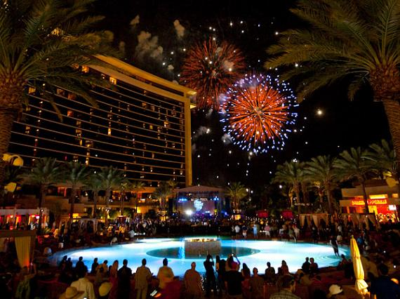 Fireworks at Red Rock Casino & Resort