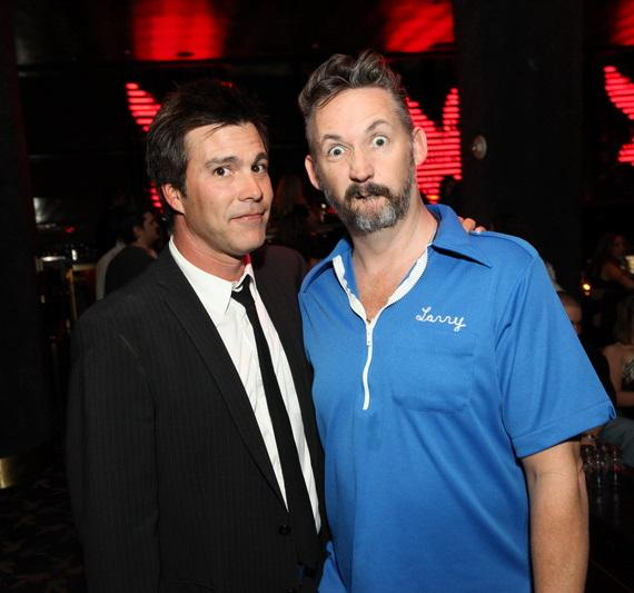 Harland Williams and Cort McGowen at Playboy