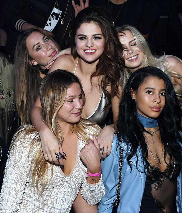 """Selena Gomez arrives at her official """"Revival Tour"""" kick off after party at Light Nightclub at Mandalay Bay Hotel and Casino"""